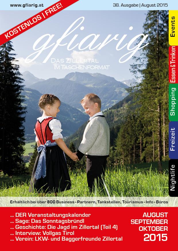 Gfiarig - 38.Ausgabe - August 2015