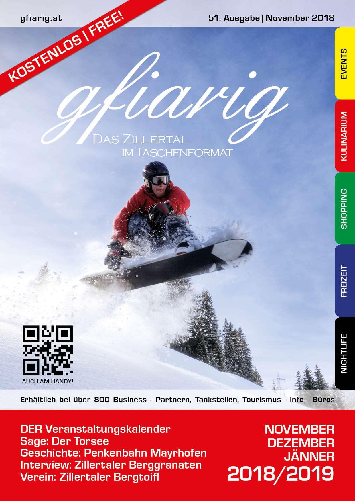 Gfiarig - 51.Ausgabe - November 2018